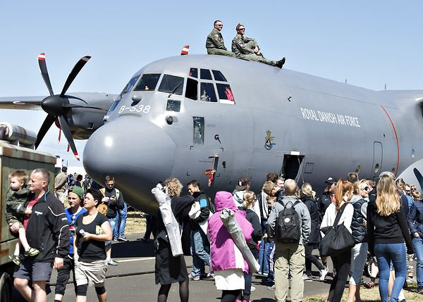 IN PICTURES: The Danish Air Show