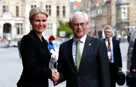 Is Danish PM qualified for European top job?
