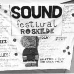 <b>It wasn't always called Roskilde Festival</b><br>  High school students at the time, the dynamic duo of Mogens Sandfær and Jesper Switzer Møller, aided by music promoter Karl Fischer, organised the first Roskilde Festival back in 1971. Twenty bands played over two days, at what was known as Sound Festival at the time.Photo: Roskilde Festival