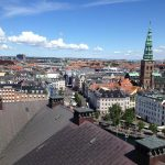 To the northwest, one can see past Højbro Plads to the pedestrian shopping street Strøget.Photo: Justin Cremer