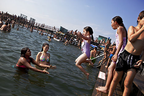 Danish water temps reach record highs