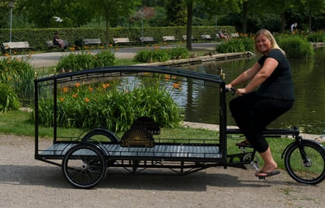 Ending the cycle of life… on a tricycle