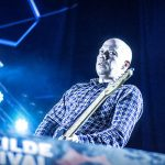 Mogwai's Friday night show at Arena was a classic example of what the right time and placement can mean for a Roskilde gig. The Scottish rockers owned the night. (Justin Cremer)Photo: Jens Nørgaard Larsen/Scanpix