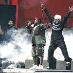 While some of the early reviews from Outkast's long-awaited reunion tour were lukewarm, their opening Orange show was red hot. (Justin Cremer)Photo: Jens Nørgaard Larsen/Scanpix