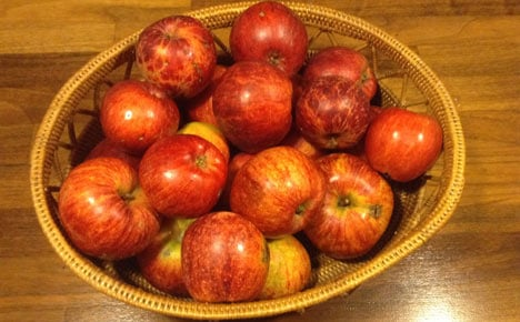 Banner year for Danish apples and pears