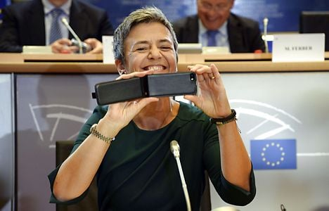 Vestager wows at EU commission hearing