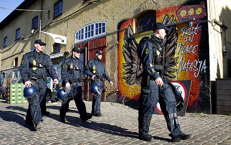 Danish police to wear ID numbers under new plan