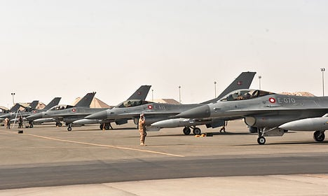 Denmark drops its first bombs on Isis targets