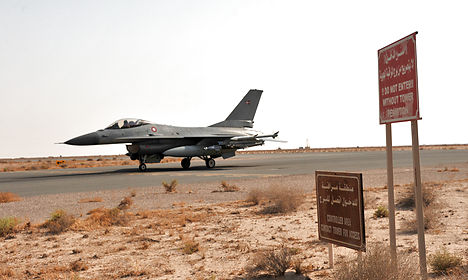 Danish F-16s carry out first mission against Isis