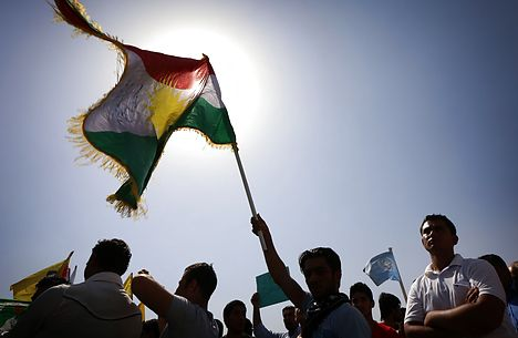 Left-wing party funds Kurdish group in Syria
