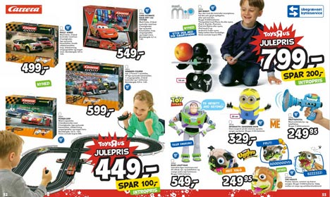 Danish toy catalogues 'too white' for Sweden