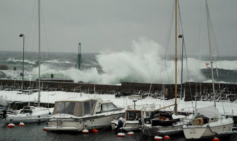 Denmark braces for powerful wind storms