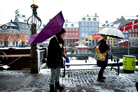 Denmark digs out from year-end snow