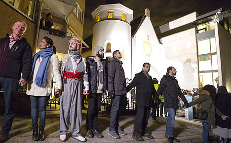 Oslo Muslims support Jews after CPH attacks