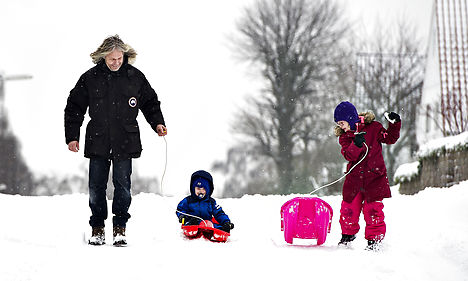 Snow to leave Denmark – for now at least