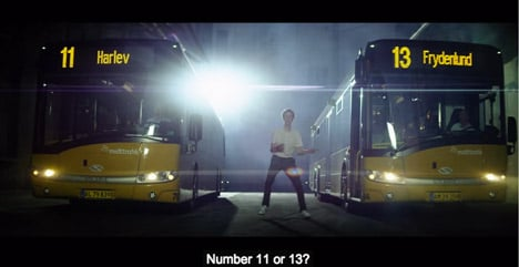 VIDEO: 'Epic Danish bus' gets back on the road