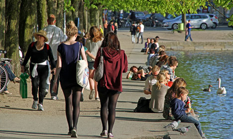 Denmark in for 'warmer than usual' spring