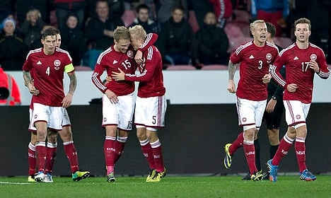 Danish national team sidelined by pay dispute