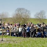 Food and Agriculture Minister Dan Jørgensen addresses the crowd at Organic Day.Photo: Simon Skipper/Scanpix