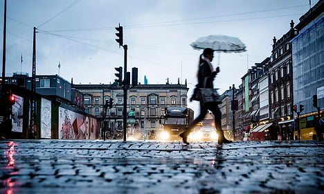 Wet and cold weekend in store for Denmark