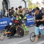 """Among the competitors were Steen and Peder Mondrup who made <a href=""""http://www.thelocal.dk/20140824/twins-run-toward-history-at-ironman-copenhagen"""">Ironman history back in August</a>.Photo: Nikolai Linares/Scanpix"""