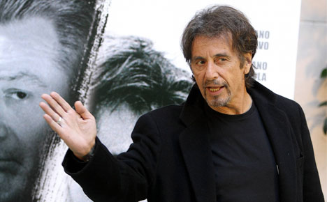 Al Pacino pulls out of 'Nazi' play in Denmark