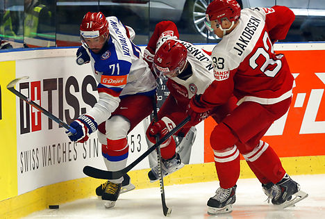 Denmark still winless after loss to Russia