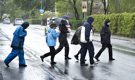 Denmark suffering cooler than normal May