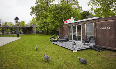 Denmark gets its first mobile hotel