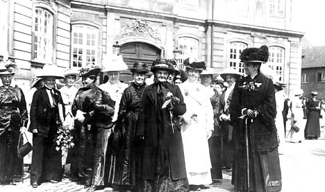 Denmark marks 100 years of women's rights