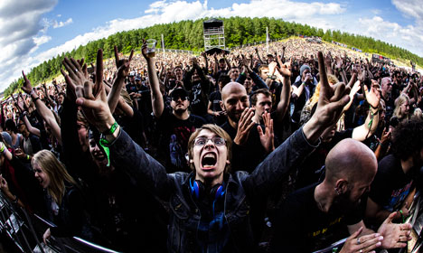 Metalheads plunge into the depths of Copenhell