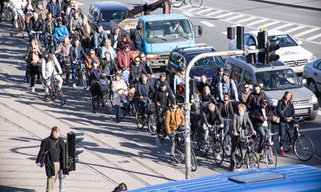 Copenhagen rides to the top of bicycling world