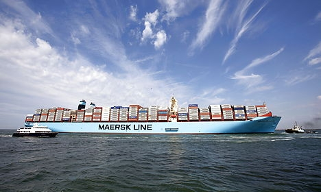 Maersk orders 11 'mega' container ships