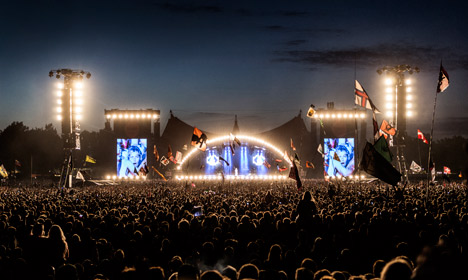 Roskilde Festival fans to drink their own pee
