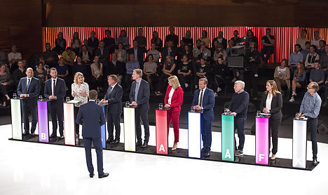Danish election goes down to the wire