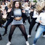 Dancing in the streets at Distortion.Photo: Sara Gangsted/Scanpix