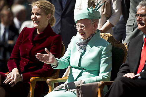 Danish queen and PM celebrate gender equality