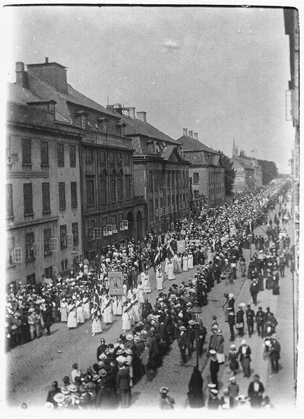 Denmark marks 100 years of women's right to vote