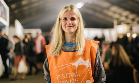 Volunteers at the heart of Roskilde Festival