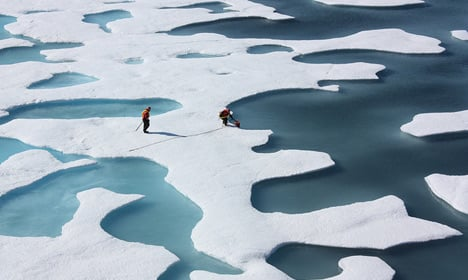 Commercial fishing at North Pole barred