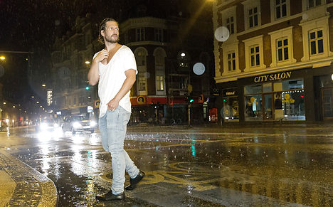 Denmark's hottest day ends with downpours