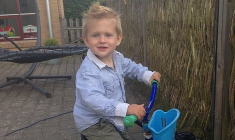 Two-year-old boy found alive after huge search