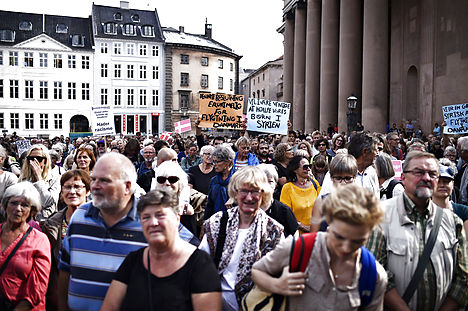 Denmark enacts cuts to refugee benefits