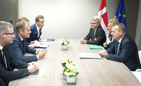 'Important signal' from Denmark before summit