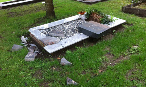 Another Muslim cemetery vandalized in Denmark