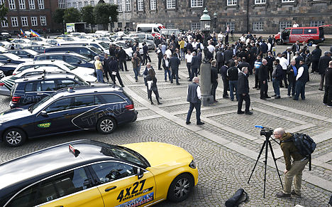 Danish taxi drivers call for action against Uber