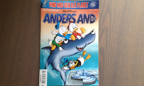 Donald Duck reported to Danish police