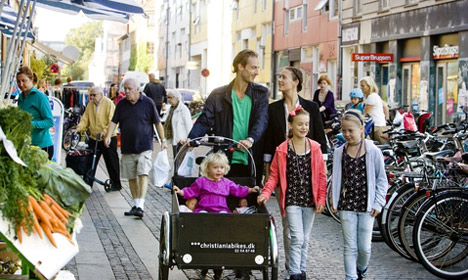 Danes among world's top fans of gender equality