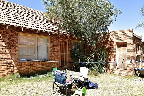 Frederiksen's South African house, where police found genitalia stored in the freezer. Photo: The house of a Danish man living in South Africa is pictured in Bloemfontein on November 4, 2015. Danish national Peter Frederiksen was arrested in September 2015 after twenty-one severed vaginas were found stored in his home freezer. Photo: Charl Devenish/AFP/Scanpix