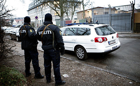 Danish police join search for terror suspect
